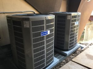 Home A/C Repair Work